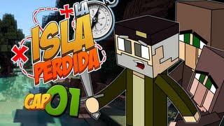 EL NAUFRAGIO! - Episodio 1 | LA ISLA PERDIDA | Minecraft Survival Mods Serie