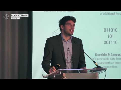 Marco Streng CEO at Genesis Mining - Blockchain: Money Conference London 2016