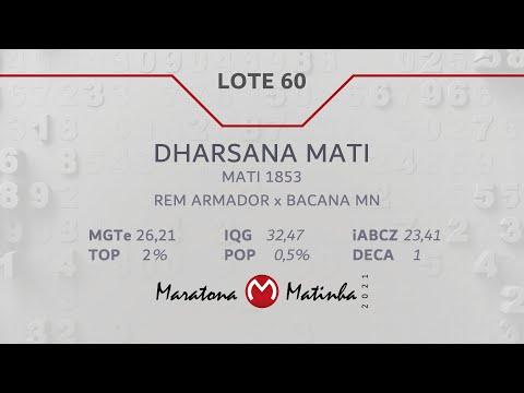 LOTE 60 Maratona Matinha