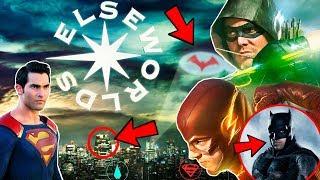 """¡La HISTORIA del CROSSOVER Te Sorprenderá! The Flash Arrow """"ELSEWORLDS"""" Explicado"""