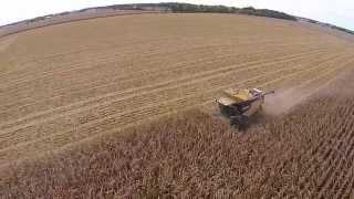 Corn Harvest 2014  TK Farm