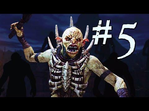 Shadow of Mordor Gameplay Walkthrough Part 5 - Ratbag The Coward