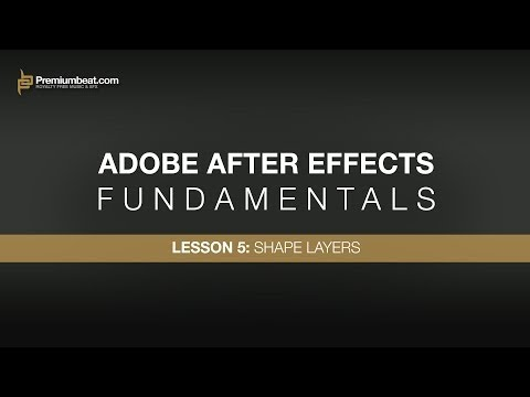 Adobe After Effects Fundamentals 5: Shape Layers