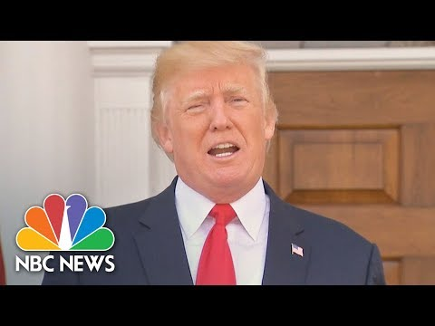 President Donald Trump Officially Declares Opioid Crisis A National Emergency | NBC News