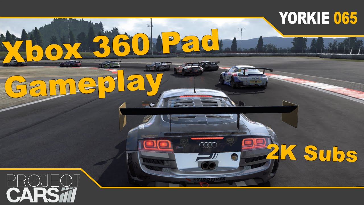 Cars Xbox 360: Project Cars AI: Xbox 360 Pad Gameplay