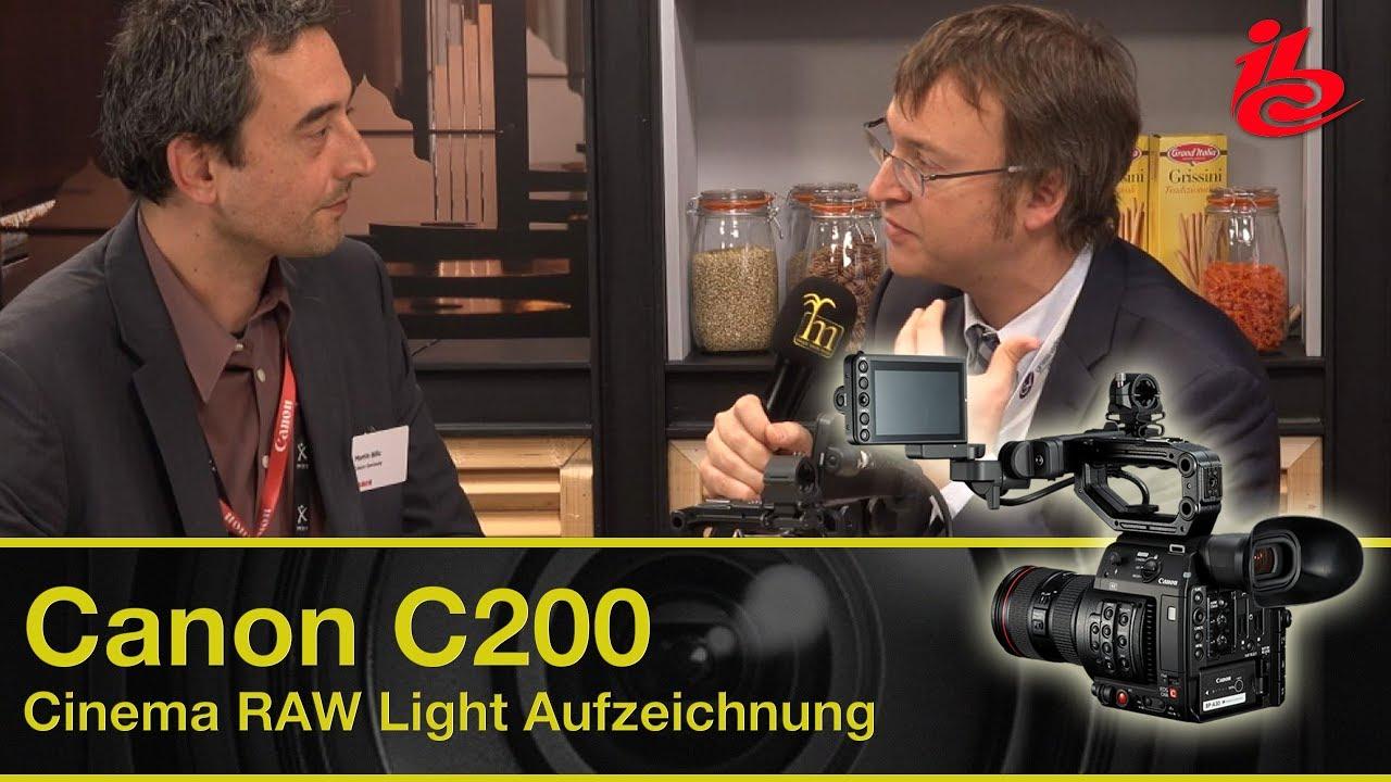 canon c200 aufzeichnung canon cinema raw light mit 12bit oder mit 8bit ibc report 2017. Black Bedroom Furniture Sets. Home Design Ideas