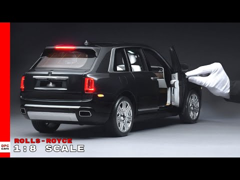 Rolls Royce Cullinan 1:8 Scale Replica Model