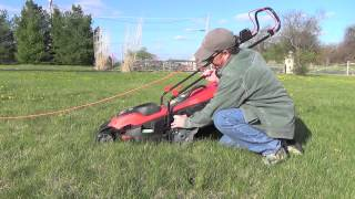 Review of the Black & Decker EM1700 electric mower