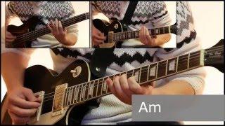 Как играть на гитаре Мертвый анархист  - Король и шут  ( видеоурок Guitar riffs) + табы