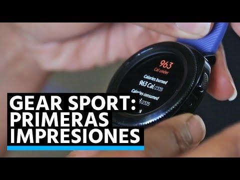 Samsung Gear Sport: Primeras impresiones