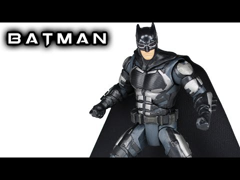DC Multiverse BATMAN Justice League Action Figure Toy Review