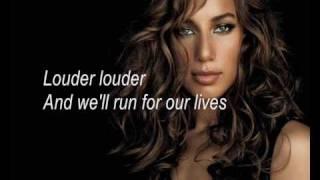 Leona Lewis - Run (Karaoke/Instrumental)