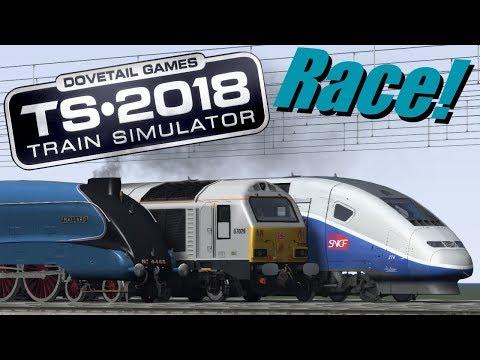Train Simulator 2018 - Past, Present or Future (Race!)