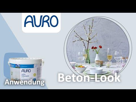 AURO Anwendung Beton-Look