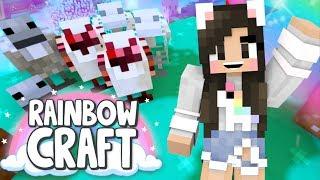 💙NETHER CHICKENS! Rainbowcraft Ep.17