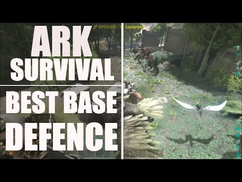 Ark Survival Evolved PVP - Best Base Defence EVER Raid - Official Ark Primitive Raid (Xbox One)