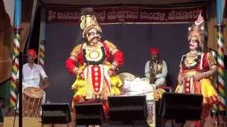 "Yakshagana--"" Hudugaa neenu..""  -Kondadakuli, Gopalachar"