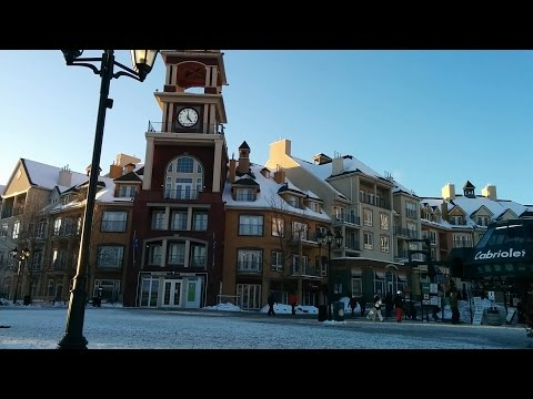 MONT-TREMBLANT - Winter in the Village