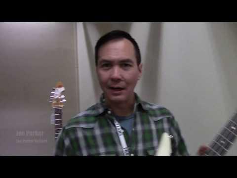 Bass Musician Magazine - Rose Quarter Guitar Festival - Joe Parker Guitars