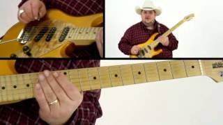 Johnny Hiland Guitar Lesson - #7 Open String Licks - Ten Gallon Guitar