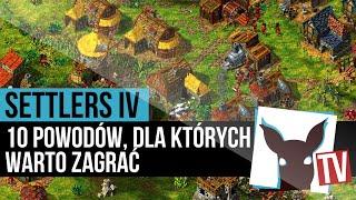 The Settlers IV - 10 powodów, dla których warto zagrać (recenzja) | ZagrajnikTV
