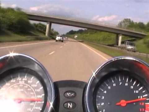 suzuki bandit 600 k3 acceleration top speed - youtube