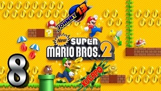 New Super Mario Bros 2 GAMEPLAY - Parte 8 - Nos enfrentamos a Morton Koopa!!!!!
