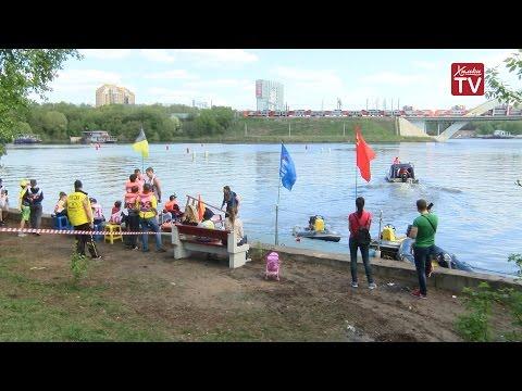 Стартовали соревнования по водно-моторному спорту.