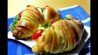 Flaky Layers Butter Croissant Bread Recipe