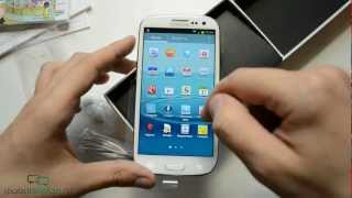 Распаковка Samsung Galaxy S 3 I9300 (unboxing Galaxy S III)(Читать на сайте - http://mobiltelefon.ru/post_1341159016.html Цена дня на Samsung Galaxy S3 - http://bit.ly/1BVKQ3M Распаковка Samsung Galaxy S 3 ..., 2012-06-13T14:03:55.000Z)