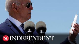 Live: Joe Biden touts American Jobs Plan in New Orleans