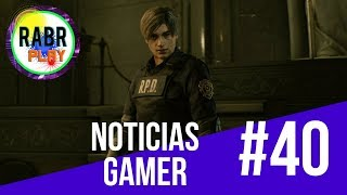 Noticias Gaming #40 OVERWATCH - RIOT - AGONY - TETRIS EFFECT - RESIDENT EVIL 2 REMAKE