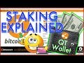 BITCONNECT STAKING EXPLAINED!!! -- Benefits of the QT Wallet... Sync Issues Resolved...