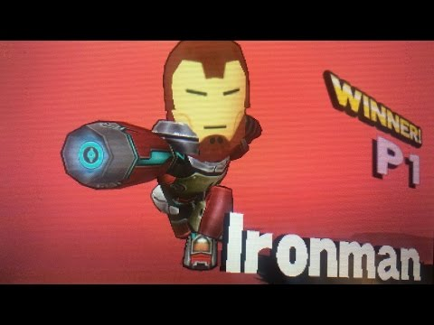 Smash Brothers For 3ds Ironman Mii