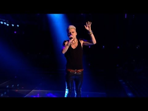 Vince Kidd performs 'Back To Black' - The Voice UK - Live Semi Final - BBC One