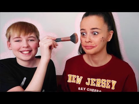11 Year Old Does My Make Up | Holly H