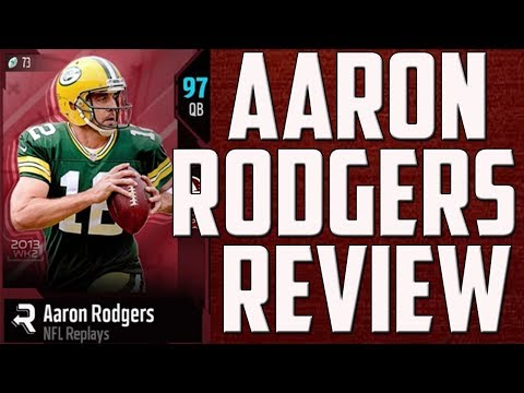 How Good is 96 Overall Aaron Rodgers? MUT 18 Card Review