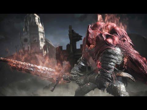 Dark Souls 3 Ringed City: Slave Knight Gael Boss Fight (4K 60fps)