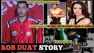 ROB DUAT STORY: CHAMPION PBA PLAYER | GF NOON ANG EX BEAUTY QUEEN AT ARTISTA | BAKIT NAWALA SA PBA?
