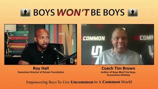 OSU and NFL player Roy Hall, Driven Foundation