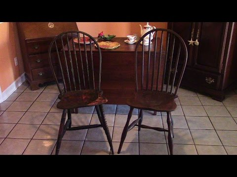 75 Making a Bow Back Windsor Chair