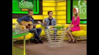 Группа Валентин Стрыкало в утреннем шоу 'Guten Morgen'