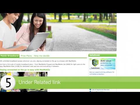 StarHub How-to's: Firmware upgrade for mobile broadband devices
