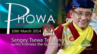 Sengey Tsewa Teaching (Mandarin&French) - 10th March by HH Gyalwang Drukpa