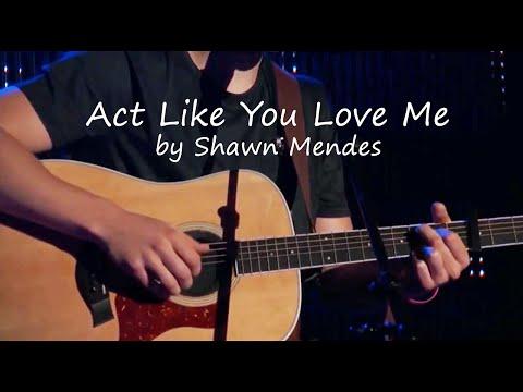 Shawn Mendes - Act Like You Love Me (Lyrics)
