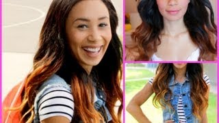 Get Ready With Me: Back To School Hair Makeup & Outfit Ideas! ✄ | MyLifeAsEva