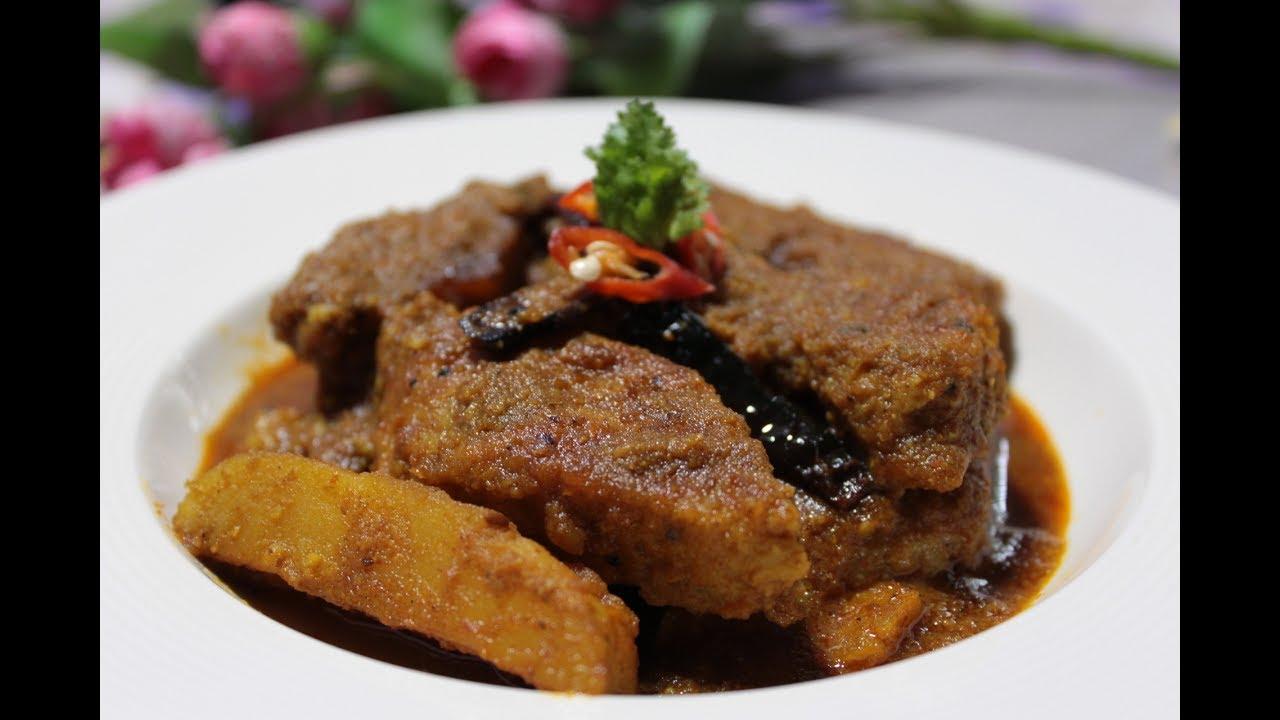 Dhokar Dalna - ধোকার ডালনা - Bengali Niramish Dhoka Recipe - Bengali  Festivle Niramish Recipe