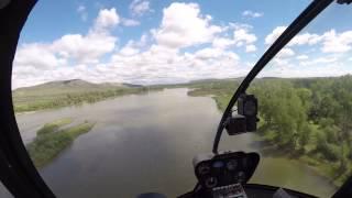 30 минутный полет на R44 над окрестностями города Абакана(, 2015-06-18T10:26:08.000Z)