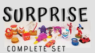 Surprise 💥 Happy Meal Toy McDonald's Complete Set 17  Set Give Away NOV 20 💰 (40th Anniversary)