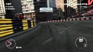 Grid 2 PC Freestyle Xtreme Overtake 34,700 PTS - Very Hard Difficulty - No collisions/Flashbacks